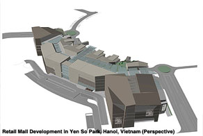 Retail Mall-Yenso Park Hanoi, Vietnam